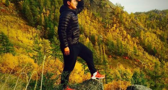hiking in Bogd Khan Mountain